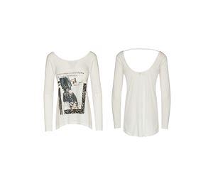 Lynne Vol.2 - Γυναικεία μακρυμάνικη λευκή Μπλούζα LYNNE