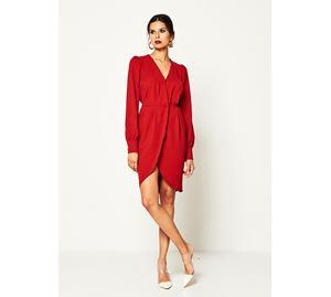 Lynne Vol.4 - Γυναικείο κόκκινο Φόρεμα LYNNE