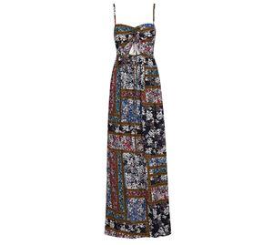 Lynne Vol.2 - Γυναικείο μπλε Maxi Φόρεμα LYNNE