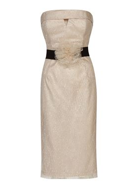 Γυναικείο strapless Φόρεμα LYNNE
