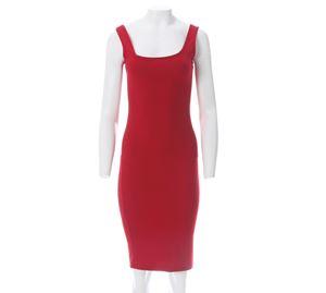 Lynne Vol.1 - Γυναικείο κόκκινο Φόρεμα LYNNE στενή γραμμή
