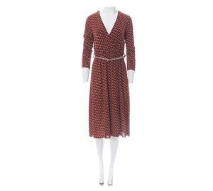 Lynne Vol.1 - Γυναικείο καφέ κρουαζέ Φόρεμα LYNNE