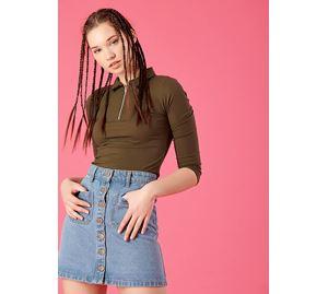 Basic Items - Γυναικεία Μπλούζα PINK WOMAN