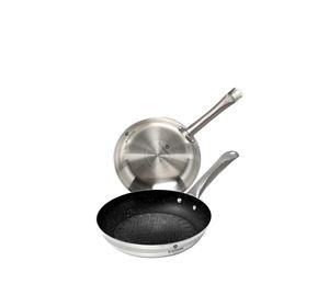 Kitchen Diamonds - Σετ Με 2 Επαγγελματικά Τηγάνια Chef Blaumann kitchen diamonds   κουζινικά είδη