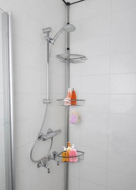 Γωνιακό Τηλεσκοπικό Ράφι Bath&Shower