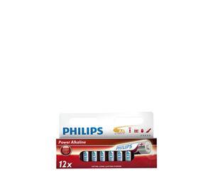 A-Brand Home Appliances - Μπαταρίες Power Alkaline AA 12 Τεμ. Philips