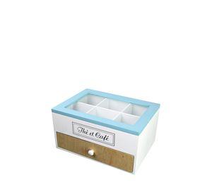 Arti Casa - Ξύλινο Κουτί Αποθήκευσης για Φακελάκια Τσαγιού Arti Casa
