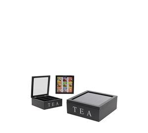 Arti Casa - Ξύλινο Κουτί αποθήκευσης για φακελάκια τσαγιού Cb