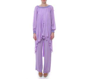 Woman Bazaar Vol.2 - Λιλά Ολόσωμη Φόρμα UP CLOTHING woman bazaar vol 2   γυναικείες φόρμες