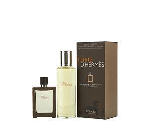 Branded Perfumes - Ανδρικό Άρωμα Hermes Terre D'Hermes Eau de Toilette 30ml & Refill Eau de Toilette 125ml