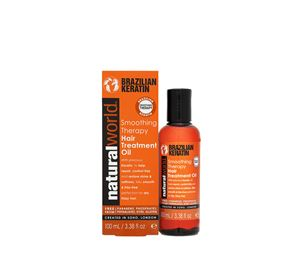 Beauty Wellness - Λάδι Περιποίησης Μαλλιών Κερατίνης Natural World