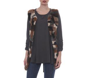 Kyara Plus Size Fashion - Γυναικείο Γιλέκο Kyara kyara plus size fashion   γυναικεία γιλέκα