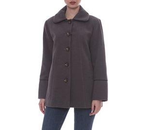 Kyara Plus Size Fashion - Γυναικείο Παλτό Kyara kyara plus size fashion   γυναικεία παλτό