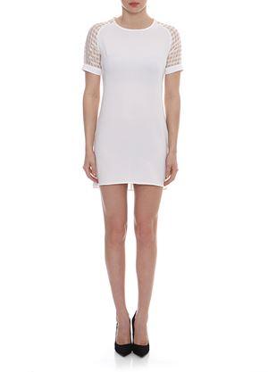 Outlet - Λευκό κοντό Φόρεμα ANGELEYE