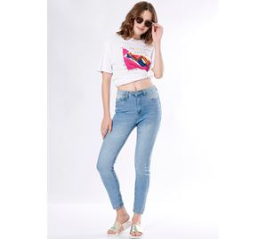 Fashion Elements - Γυναικείο Παντελόνι PINK WOMAN