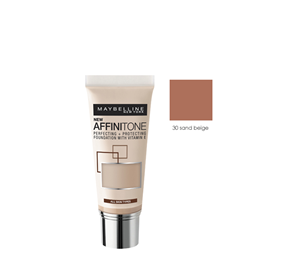 L'Oreal Paris & More - AFFINITONE FOUNDATION 30 SAND BEIGE 30ML