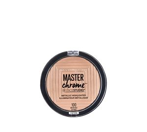 Maybelline & More - MASTER CHROME METAL HIGHLIGHTER 100 MOLTEN GOLD 9G