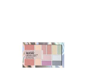 Maybelline & More - EYESHADOW PALETTE THE CITY KITS URBAN LIGHT