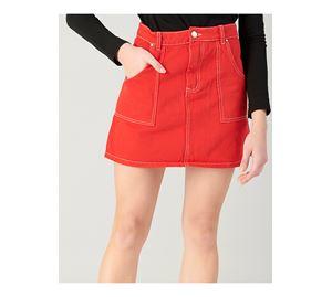 Wardrobe Renewal - Γυναικεία Φούστα PINK WOMAN