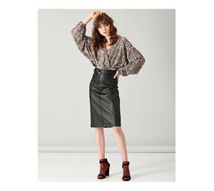 Fresh Look - Γυναικεία Φούστα PINK WOMAN