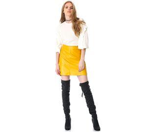 Fashion Memo - Γυναικεία Φούστα PINK WOMAN fashion memo   γυναικείες φούστες