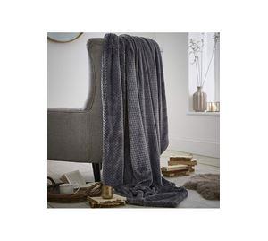 Bath & Bedding Beyond - Ριχτάρι Waffle Fleece 150 x 200 Silentnight