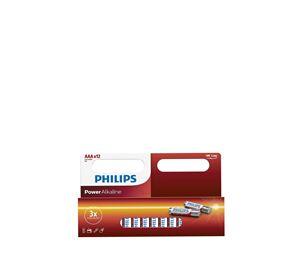 A-Brand Home Appliances - Αλκαλικές Μπαταρίες 12 Τεμ. ΑΑA Philips