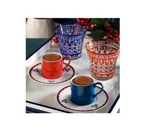 Kitchenware Shop - Σετ Φλιτζάνια Καφέ 4 Τεμ. Heritage