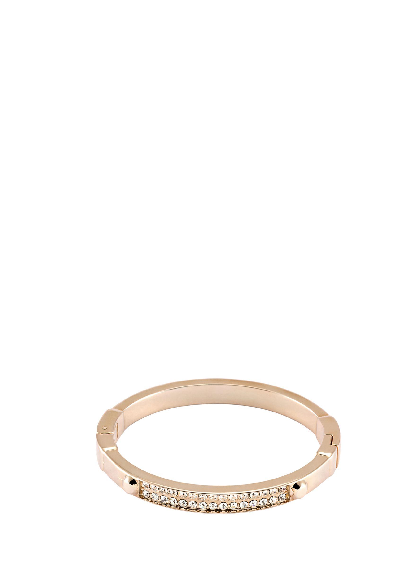 Detailed Look - Βραχιόλι Με Ροζ Χρυσά Διαμάντια Pierre Cardin
