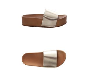 Reload Shoes - Γυναικεία Δερμάτινα Sliders RELOAD