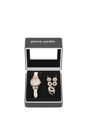 Σετ Συλλογή Κοσμημάτων Με Γυναικείο Ρολόι Pierre Cardin