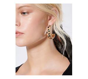Basic Items - Γυναικεία Σκουλαρίκια PINK WOMAN
