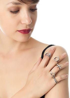 Γυναικεία Δαχτυλίδια PINK WOMAN