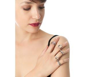 Fashion Vibe - Γυναικεία Δαχτυλίδια PINK WOMAN