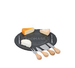 Kitchen Accessories - Σετ Πλατώ Σερβιρίσματος Τυριών 5 τμχ Alpina Switzerland