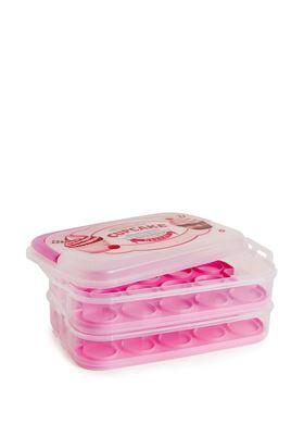 Δοχείο Αποθήκευσης Για Muffins Και Cupcakes Aria Trade