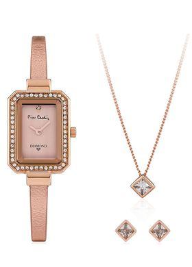 Σετ Κοσμημάτων με Γυναικείο ρολόι χειρός Pierre Cardin