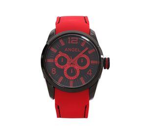 Angel Watches - Ανδρικό Ρολόι ANGEL κόκκινο λουράκι