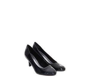 Shoes Fever - Μαύρες Στρογγυλές Γόβες Life Stride