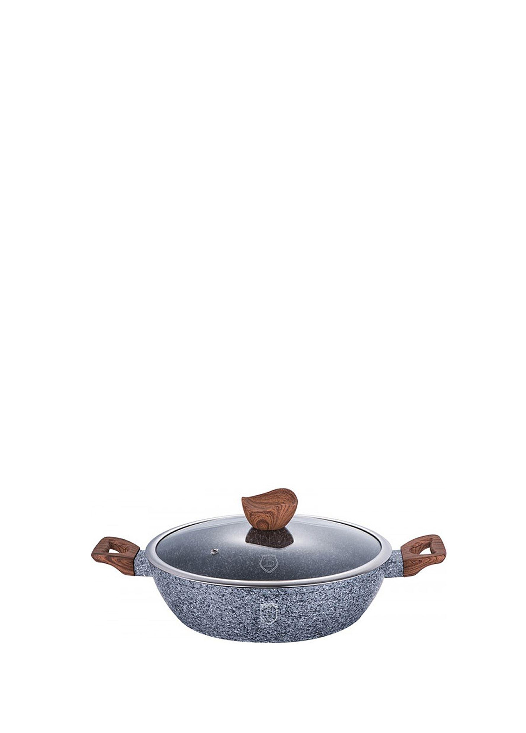 Kitchen Lab - Ρηχή κατσαρόλα με γυάλινο καπάκι 32 cm Berlinger Haus