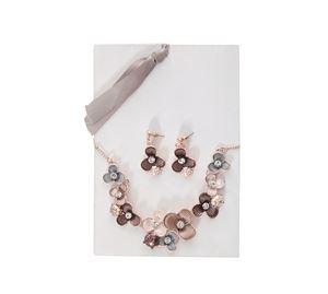 Detailed Look - Γυναικείο Σετ Κολιέ Και Σκουλαρίκια Paolitas Dream detailed look   γυναικεία κοσμήματα
