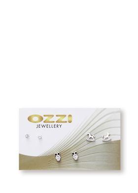 Γυναικείο Σετ Σκουλαρίκια OZZI