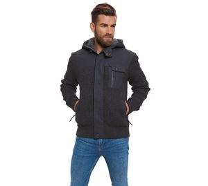 Man Fashion Outlet - Ανδρικό Παλτό CROSSHATCH