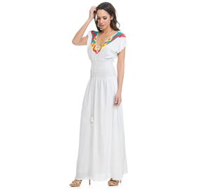 Lady Boho - Γυναικείο Μακρύ Φόρεμα Lady Boho