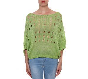 Woman Bazaar - Πλεκτή Μπλούζα 2803 FASHION LOFT