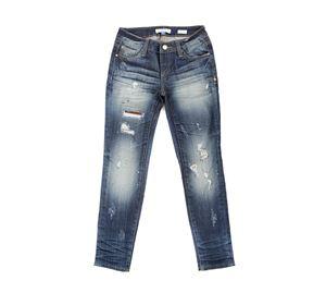 Fracomina - Γυναικείο Τζιν FRACOMINA με φθορές fracomina   γυναικεία παντελόνια