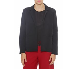 Fracomina - Γυναικείο Μαύρο Σακάκι FRACOMINA fracomina   γυναικεία σακάκια