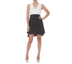 Fracomina - Αέρινο Αμάνικο Φόρεμα FRACOMINA fracomina   γυναικεία φορέματα