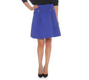 Fracomina - Μπλε Κοντή Φούστα FRACOMINA fracomina   γυναικείες φούστες