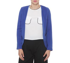 Fracomina - Γυναικείο Μπλε Σακάκι FRACOMINA fracomina   γυναικεία σακάκια